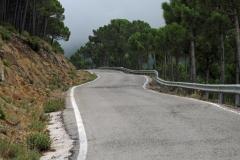 Sierra de Grazelema weg